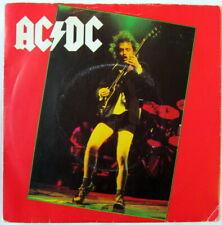 "AC/DC GIRLS GOT RHYTHM / GET IT HOT UK 7"" picture sleeve on Atlantic Heavy Metal"