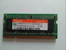 Memoria RAM Hynix 512Mb 2Rx16 PC2-4200S-444-12