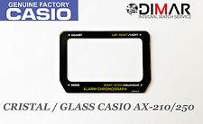 CRISTAL / GLASS CASIO ORIGINAL AX-210/250 NOS