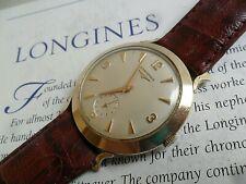 Super Clean Vintage Men's 1960's Longines Swiss Mechanical Watch All Original