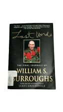 Last Words By William S Burroughs Book Novel