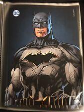 "Batman Large Print - Signed by Jim Lee! 16x22"""