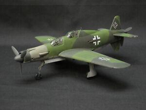 1/72 DORNIER Do 335 A-12 LUFTWAFFE PFEIL TRAINER, PRO BUILD & PAINT SCALE MODEL