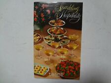 Sparkling Hospitality, 1961 Vintage Collectable, Taylor Ny Wine Recipe Booklet