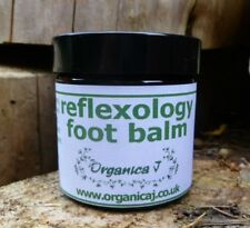 Reflexology Foot Balm Organic Ingreds. 60ml Effective & Used by Reflexologists