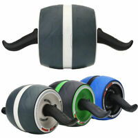 Pro Roller Wheel Core Abdominal Workout Fitness Ab Carver Gym Home Exerciser USA