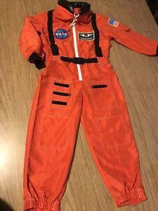 Boys Girls NASA Space Shuttle Astronaut Fancy Dress Up Costume aged 4-6 Years
