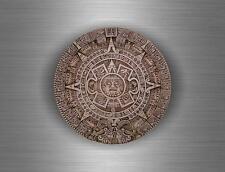 Sticker car biker tuning decal aztec tribal calendar maya mayan mexico bumper