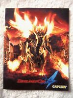 76358 Instruction Booklet - Devil May Cry 4 - Sony PS3 Playstation 3 (2007) BLES