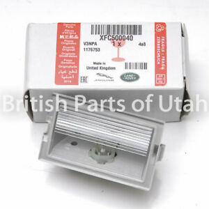 Land Range Rover Sport LR3 LR2 LR4 License Plate Lamp Light Bulb Lens Rear OEM