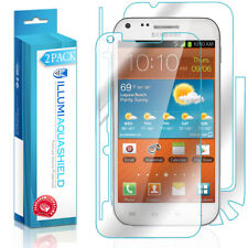 2x iLLumi AquaShield Front Screen + Back Protector for Samsung Galaxy S II 4G