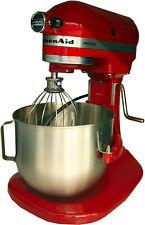 KitchenAid Teig-Knet-Küchenmaschine 5KPM5EER Heavy Duty 4,8 L,315 Watt,Rot