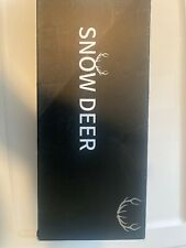 New listing Snow Deer Heated Glove Liners for Men Women,Size S Rechargeable Battery Medium