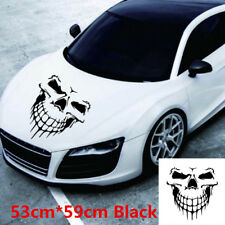 New Car Truck Accessories Vinyl Large Skull Decal Graphic Sticker For Body Hood