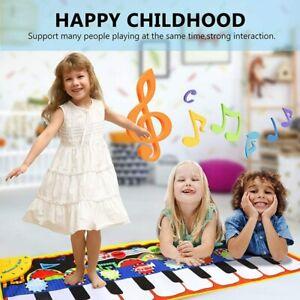 Piano Mat for Kids, Music Mat Dance Mat Keyboard Musical Mat Touch Play Mat F...