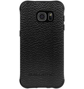 Ballistic Samsung Galaxy S7 Model G930F Slim Protective Black IMD Leather Case