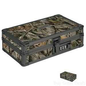Portable Safe Space Combination Lock Mini Box Travel Personal Storage Locking