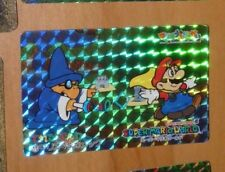 SUPER MARIO WORLD BANPRESTO CARDDASS CARD PRISM CARTE 11 NITENDO JAPAN 1993 NM