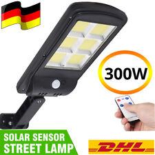 120 LED Solarleuchte Solarlampe mit Bewegungsmelder Außen Fluter Wandstrahler DE