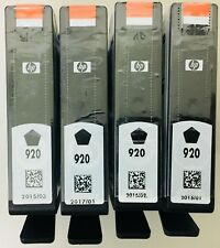 HP Genuine 920 Black 4-Pack Ink Cartridges