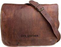 Bag Best Trade Leather Messenger Shoulder Men's Laptop Satchel Handbag Brown