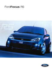 Ford Focus RS large retro promo poster