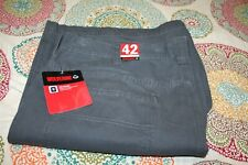 NWT WOLVERINE Bermuda SHORTS Size 42 Gray Granite Pockets & for cell phone