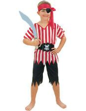 Pirate Boy Boy's Fancy Dress Costume - Medium - Age 7 - 9 Years - New & Sealed