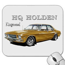 1971 - 1974  HOLDEN  HQ   KINGSWOOD  SEDAN  202    MOUSE PAD   MOUSE MAT