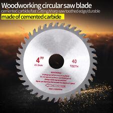 1PC 4inches Circular Saw Blade 40Teeth Wood Cutting Tool Bore Diameter 20mm