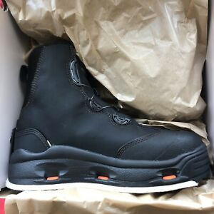 Korkers Devils Canyon Wading boots w/Felt and Kling-On rubber soles, Size 12