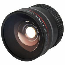 Auxiliary/Conversion Fisheye Camera Lenses for 55mm Filter