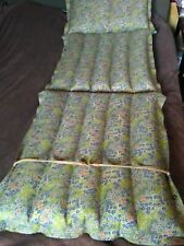 inflatable beach mattress Soviet air mattress  190 * 73 cm 1980 Vintage retro