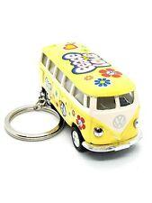 Kinsmart - 1:64 Scale Yellow1962 Volkswagen Bus Keychain (BBKT2546DFKY)