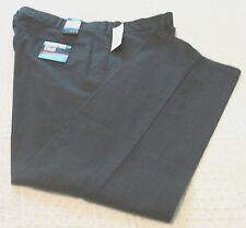 Mens Dockers Dark Gray/Black Plaid Slacks/Pants, 33x32, D2 Straight Fit NWT