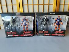 Marvel Legends Target Exclusive 2-Lot Civil WAR MACHINE and IRON MAN MARK 27!