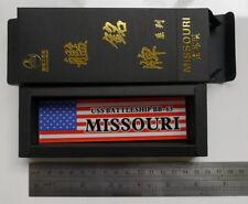 Nameplate USS Battleship BB-63 Missouri for 1/700 1/350 1/200 model display