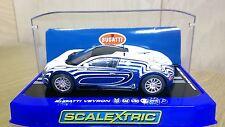 SCALEXTRIC C3394 Bugatti Veyron L'Or Blanc