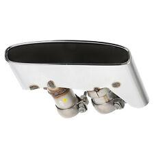 OEM 17-20 Bentley Bentayga Exhaust Pipe Muffler Tips w/Exhaust Flap 36A253682