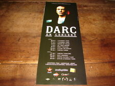 DANIEL DARC - PETITE PUBLICITE DATES CONCERT 2008-09 !!