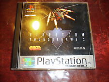 FIRESTORM THUNDERHAWK 2 jeu playstation PS1 PAL version Française Complet BEG