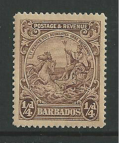BARBADOS #165 MNH SEAL OF THE COLONY