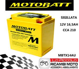 Batterie Préchargé MOTOBATT MBTX14AU Norton Commando 850