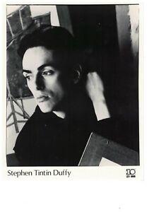 """Steven Tin Tin Duffy UK Original 10 Promo Photo 10"""" x 8"""" No 2"""