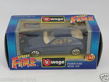 BBURAGO BURAGO 1/43 STREET FIRE COLLECTION #4146 FERRARI 456 GT BLU [PF3-12]