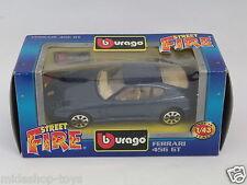 [PF3-12] BBURAGO BURAGO 1/43 STREET FIRE COLLECTION #4146 FERRARI 456 GT BLU