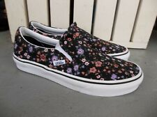 NWT WOMEN'S VANS CLASSIC SLIP ON (FLORAL) SNEAKERS/SHOES.SIZE 7.BRAND NEW 2021.