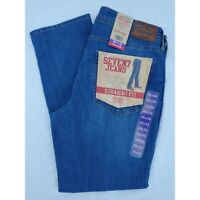 Men's Seven7 Straight Fit Blue Jeans 4 Way Stretch NWT 36X30