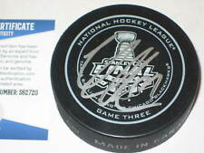 VICTOR HEDMAN Signed Official 2013 STANLEY CUP GAME 3 Puck w/ Beckett COA