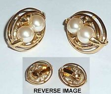 Unbranded Gold Earrings Vintage Costume Jewellery